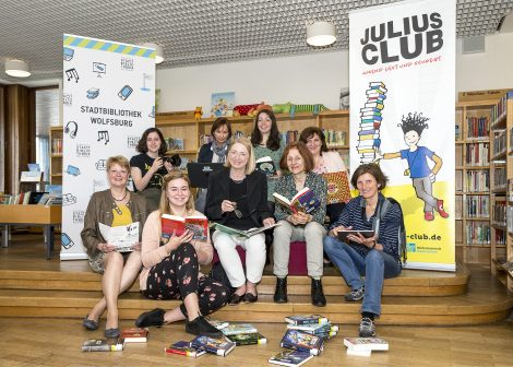 Kooperationspartner rund um den JULIUS-CLUB 2019 der Stadtbibliothek Wolfsburg